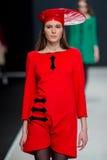 Η επίδειξη μόδας Pierre Cardin στην εβδομάδα μόδας της Μόσχας Με αγάπη για τον πτώση-χειμώνα 2016/2017 της Ρωσίας Στοκ Φωτογραφία