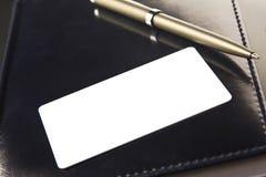 η επαγγελματική κάρτα βάζ&e στοκ φωτογραφία με δικαίωμα ελεύθερης χρήσης