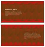 Η επαγγελματική κάρτα Στοκ εικόνες με δικαίωμα ελεύθερης χρήσης