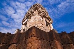 η επαρχία κάστρων λικνίζει srakaew την Ταϊλάνδη Στοκ Εικόνα