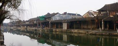 Τοπίο Xitang Στοκ φωτογραφία με δικαίωμα ελεύθερης χρήσης