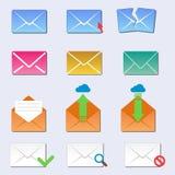 Η επικοινωνία εικονιδίων κάλυψης φακέλων ηλεκτρονικού ταχυδρομείου και η κενή κάλυψη αλληλογραφίας γραφείων εξετάζουν την κενή επ ελεύθερη απεικόνιση δικαιώματος
