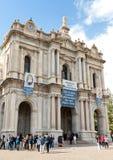 Η επισκοπική λάρνακα της ευλογημένης Virgin Rosary της Πομπηίας Στοκ φωτογραφίες με δικαίωμα ελεύθερης χρήσης