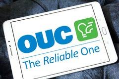 Η Επιτροπή χρησιμοτήτων του Ορλάντο, OUC, λογότυπο επιχείρησης στοκ εικόνες