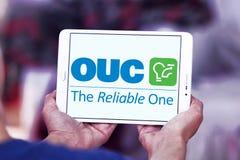 Η Επιτροπή χρησιμοτήτων του Ορλάντο, OUC, λογότυπο επιχείρησης στοκ φωτογραφία με δικαίωμα ελεύθερης χρήσης