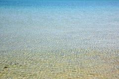 Η επιφάνεια θάλασσας στη Μαύρη Θάλασσα Στοκ Εικόνες