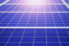 Η επιφάνεια των ηλιακών πλαισίων Στοκ εικόνες με δικαίωμα ελεύθερης χρήσης