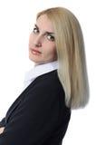 Η επιχειρηματίας κοιτάζει Στοκ φωτογραφία με δικαίωμα ελεύθερης χρήσης