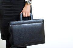 η επιχειρηματίας χαρτοφ&upsil Στοκ φωτογραφίες με δικαίωμα ελεύθερης χρήσης