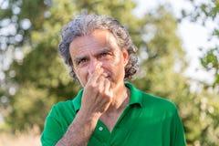 η επιλογή μύτης ατόμων του Στοκ Φωτογραφία