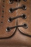 Η λεπτομέρεια επανδρώνει το παπούτσι Στοκ φωτογραφία με δικαίωμα ελεύθερης χρήσης