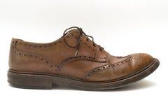 Η λεπτομέρεια επανδρώνει το παπούτσι Στοκ εικόνες με δικαίωμα ελεύθερης χρήσης