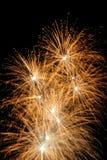 Η εργασία πυρκαγιάς για γιορτάζει την εποχή Στοκ Εικόνα