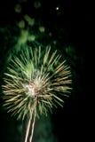 Η εργασία πυρκαγιάς ομορφιάς για γιορτάζει Στοκ Εικόνες