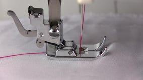 Η εργασία της ράβοντας μηχανής κίνηση αργή απόθεμα βίντεο