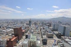 η εσωτερική άποψη γεφυρών παρατήρησης Sapporo Στοκ φωτογραφίες με δικαίωμα ελεύθερης χρήσης