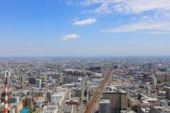 η εσωτερική άποψη γεφυρών παρατήρησης Sapporo Στοκ εικόνες με δικαίωμα ελεύθερης χρήσης
