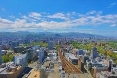 η εσωτερική άποψη γεφυρών παρατήρησης Sapporo Στοκ φωτογραφία με δικαίωμα ελεύθερης χρήσης