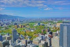 η εσωτερική άποψη γεφυρών παρατήρησης Sapporo Στοκ Φωτογραφίες