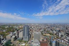 η εσωτερική άποψη γεφυρών παρατήρησης Sapporo Στοκ Εικόνα
