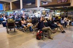 Η εσωτερική άποψη φορά το διεθνή αερολιμένα Mueang Στοκ φωτογραφία με δικαίωμα ελεύθερης χρήσης
