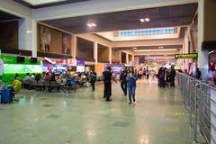 Η εσωτερική άποψη φορά το διεθνή αερολιμένα Mueang Στοκ Φωτογραφία