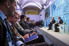 12η ετήσια συνάντηση της ευρωπαϊκής στρατηγικής Yalta (ΝΑΙ) Στοκ Εικόνες