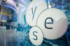 13η ετήσια συνάντηση της ευρωπαϊκής στρατηγικής Yalta (ΝΑΙ) Στοκ Εικόνα