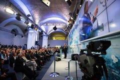 13η ετήσια συνάντηση της ευρωπαϊκής στρατηγικής Yalta (ΝΑΙ) Στοκ Εικόνες