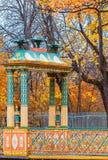 Η δευτερεύουσα κινεζική γέφυρα στο πάρκο του Αλεξάνδρου Στοκ φωτογραφία με δικαίωμα ελεύθερης χρήσης