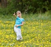 η ευτυχής εμφάνιση πεδίων & Στοκ φωτογραφία με δικαίωμα ελεύθερης χρήσης