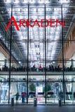 Η λεωφόρος αγορών σε Potsdamer Platz &#x22 Arkaden&#x22  Στοκ φωτογραφίες με δικαίωμα ελεύθερης χρήσης