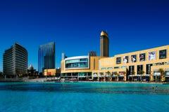 Η λεωφόρος του Ντουμπάι είναι η μεγαλύτερη λεωφόρος αγορών στον κόσμο Στοκ Φωτογραφίες