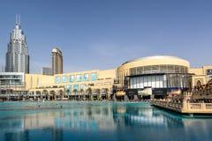 Η λεωφόρος του Ντουμπάι στα Ε.Α.Ε. Στοκ εικόνα με δικαίωμα ελεύθερης χρήσης