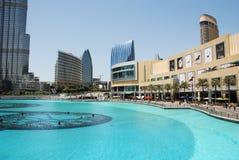 Η λεωφόρος του Ντουμπάι Στοκ φωτογραφία με δικαίωμα ελεύθερης χρήσης