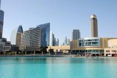 Η λεωφόρος του Ντουμπάι Στοκ Εικόνες
