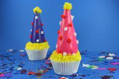 η εύγευστη τήξη κέικ μεταχειρίζεται Στοκ Εικόνα