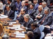 Η.Ε Γενικός Γραμματέας Antonio Guterres Στοκ Φωτογραφίες