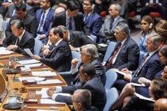 Η.Ε Γενικός Γραμματέας Antonio Guterres Στοκ Εικόνα