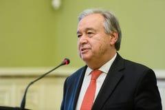 Η.Ε Γενικός Γραμματέας Antonio Guterres Στοκ φωτογραφίες με δικαίωμα ελεύθερης χρήσης