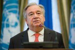 Η.Ε Γενικός Γραμματέας Antonio Guterres Στοκ φωτογραφία με δικαίωμα ελεύθερης χρήσης