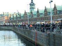 Η.Ε επίδειξης κλίματος αλλαγής Στοκ Φωτογραφίες