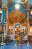 Η ελληνική εκκλησία Στοκ Εικόνες