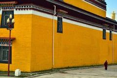 Η ζωή γύρω από το ναό Taktsa σε Zoige Τυχερός ότι αυτή η θέση είναι στοκ φωτογραφίες