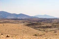 Η ζωηρόχρωμη έρημος Namib, roadtrip στο θαυμάσιους εθνικούς πάρκο Namib Naukluft, τον προορισμό ταξιδιού και το κυριώτερο σημείο  Στοκ Εικόνες