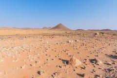 Η ζωηρόχρωμη έρημος Namib, roadtrip στο θαυμάσιους εθνικούς πάρκο Namib Naukluft, τον προορισμό ταξιδιού και το κυριώτερο σημείο  Στοκ εικόνα με δικαίωμα ελεύθερης χρήσης
