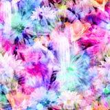 Η ζωηρόχρωμη τυπωμένη ύλη κύβων δεσμών με το Floral κάκτο εξασθένισε την επικάλυψη ελεύθερη απεικόνιση δικαιώματος