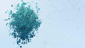 Η ζωτικότητα εικονιδίων θέσης βράζει splatter morphing στοιχεία ελεύθερη απεικόνιση δικαιώματος