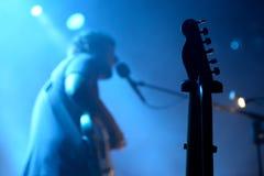 Η ζώνη φολκλορικής μουσικής του Πάου Vallve αποδίδει στη συναυλία στον τόπο συναντήσεως Apolo Στοκ εικόνες με δικαίωμα ελεύθερης χρήσης