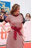 Η ηθοποιός Τζίνα Ντέιβις στη πρεμιέρα ` αυτό αλλάζει όλα ` σε tiff2018 στοκ φωτογραφία